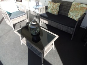 Finished Patio w/ furniture