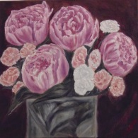 Carnations and Peonies