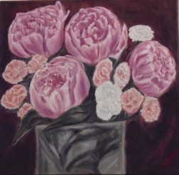 Peonis and Carnations